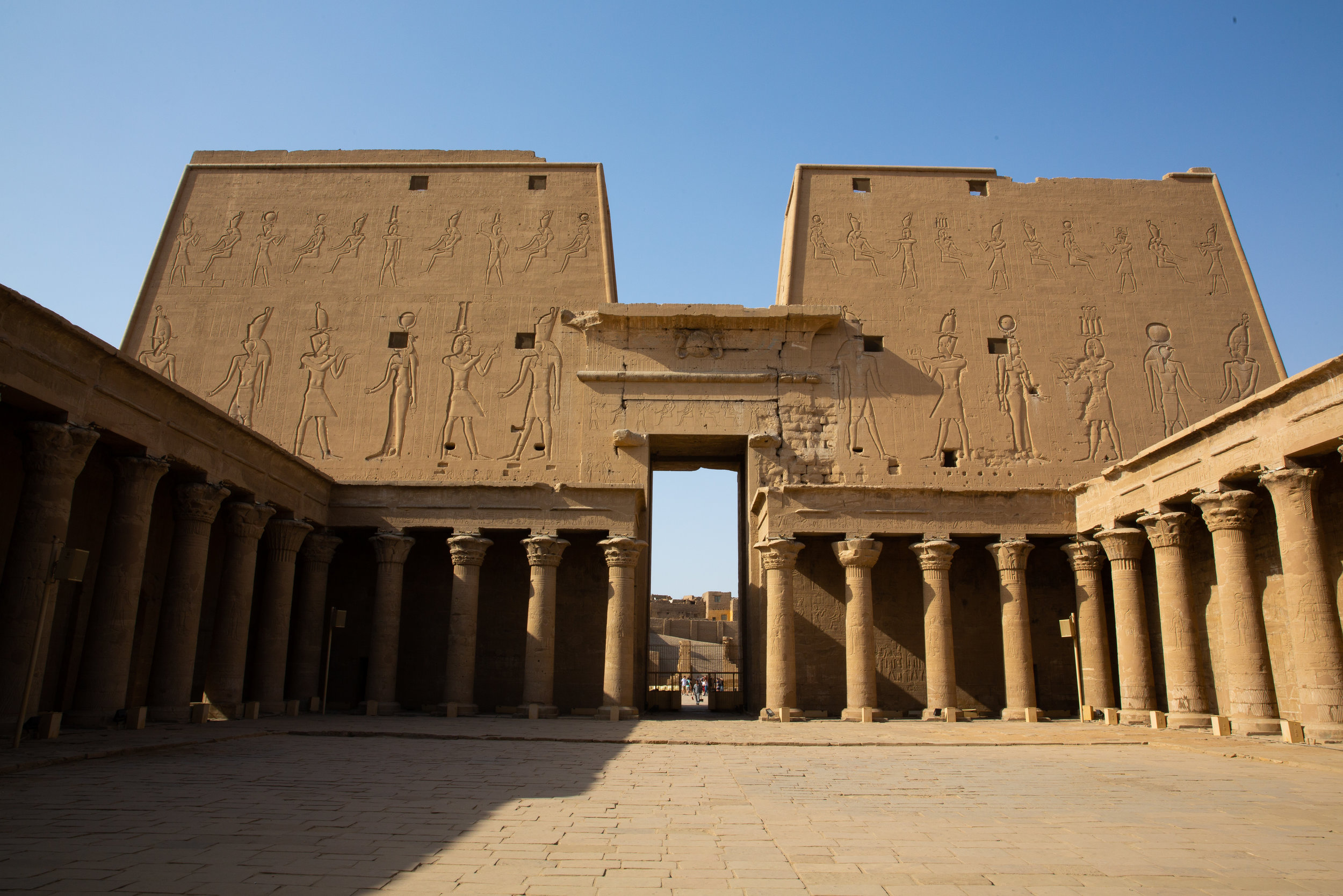 Edfu Temple, Edfu - Egypt - Wild Earth Expeditions