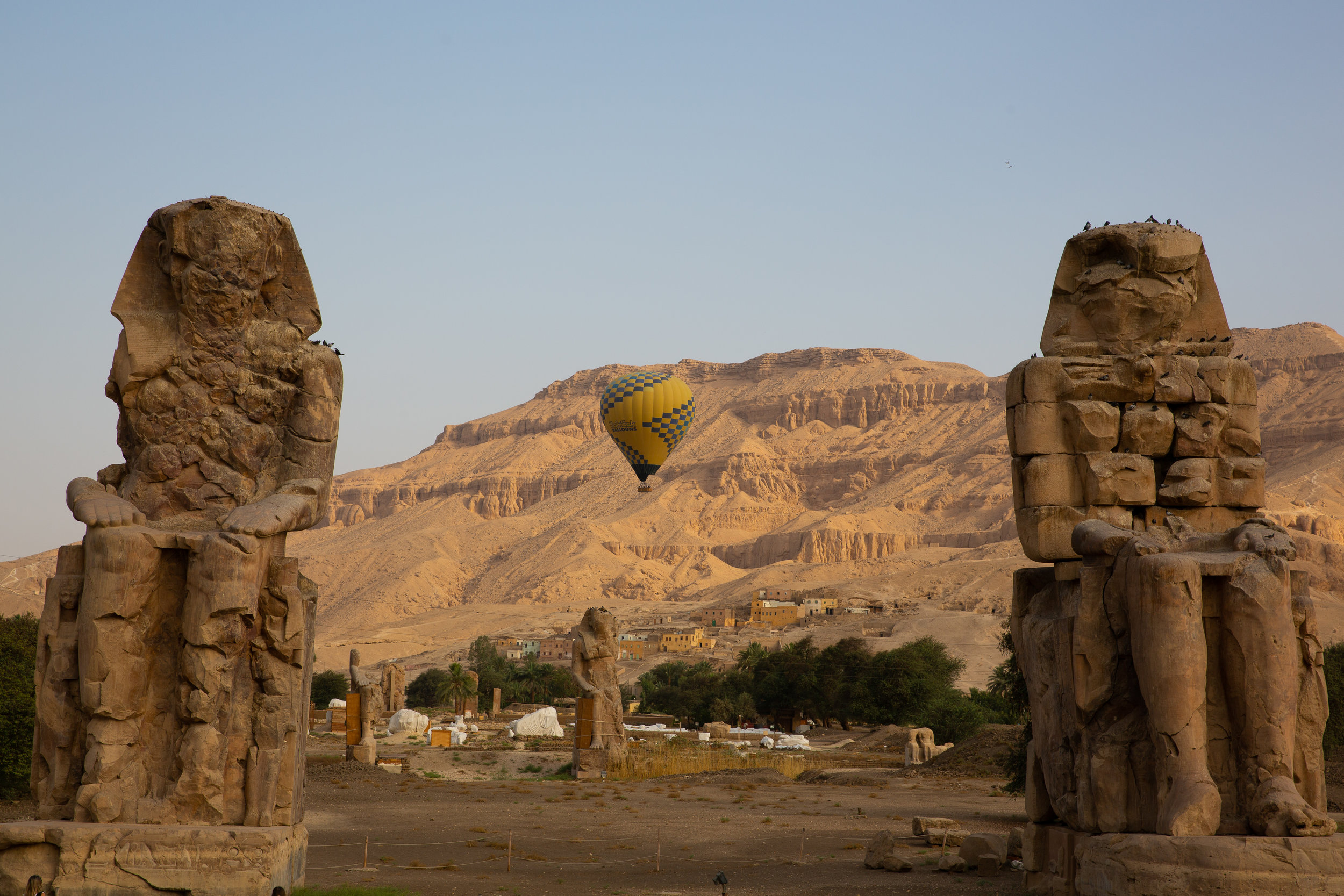 Memnon, Luxor - Egypt - Wild Earth Expeditions