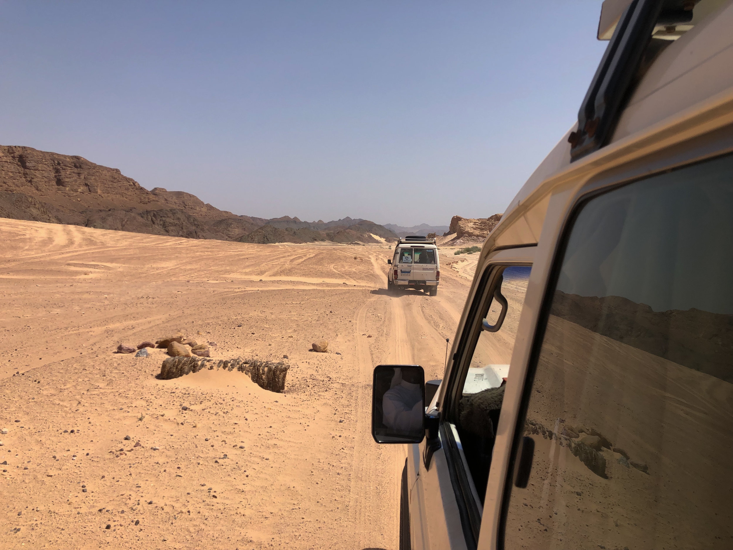 Jeep to White Canyon, Sinai - Egypt - Wild Earth Expeditions