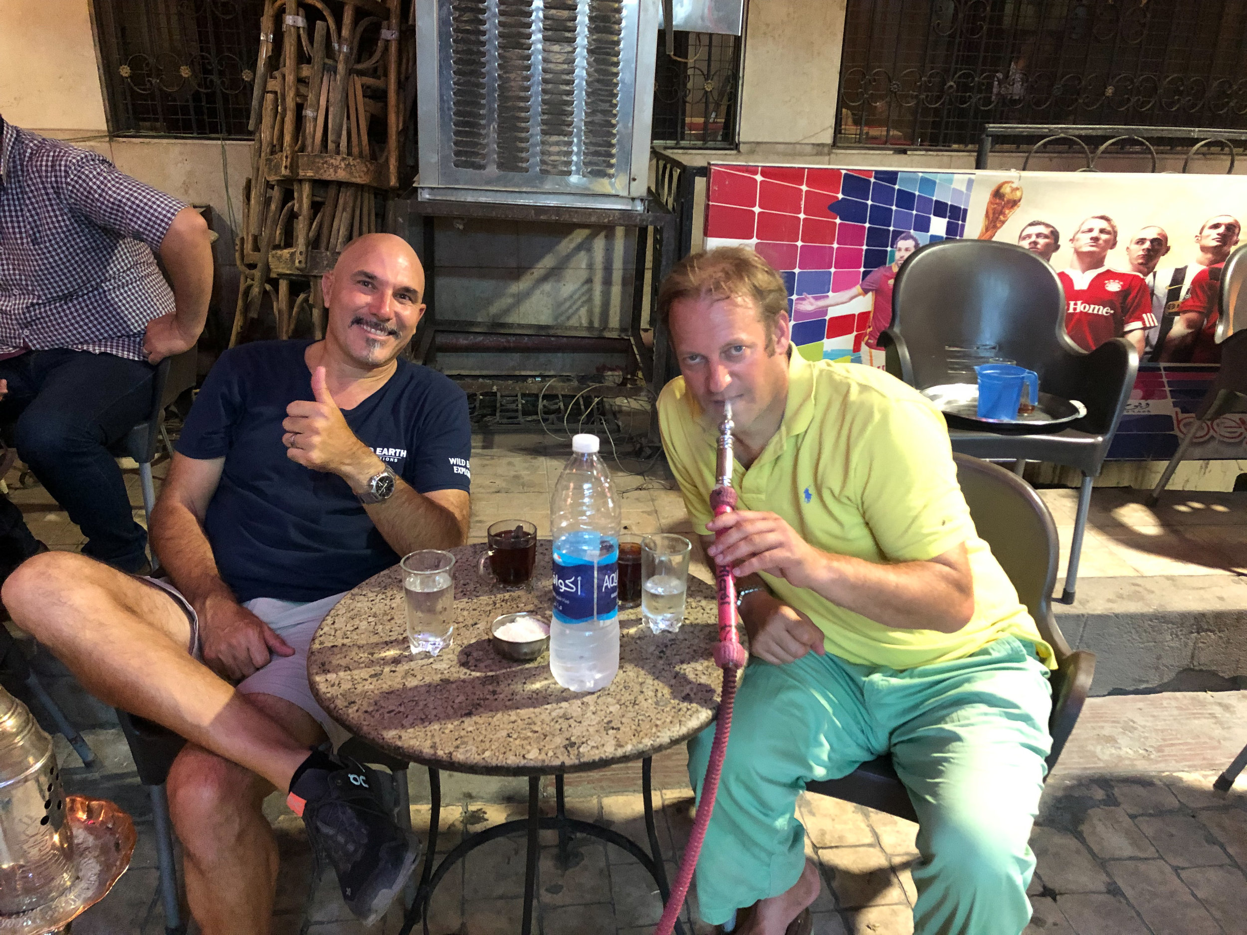 Chilling with a shisha, Luxor - Egypt - Wild Earth Expeditions