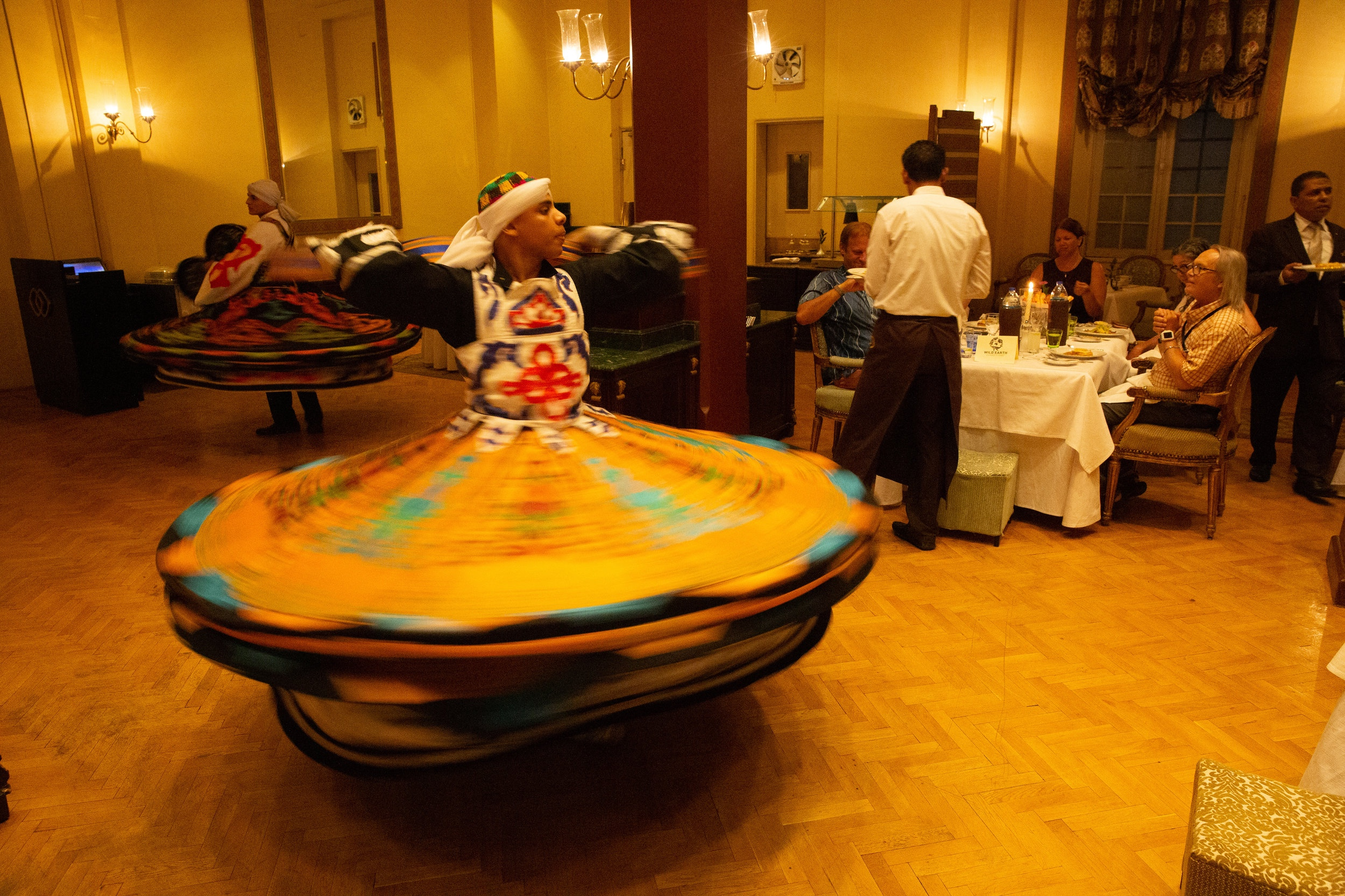 Whirling dervish last night entertainment, Luxor - Egypt - Wild Earth Expeditions