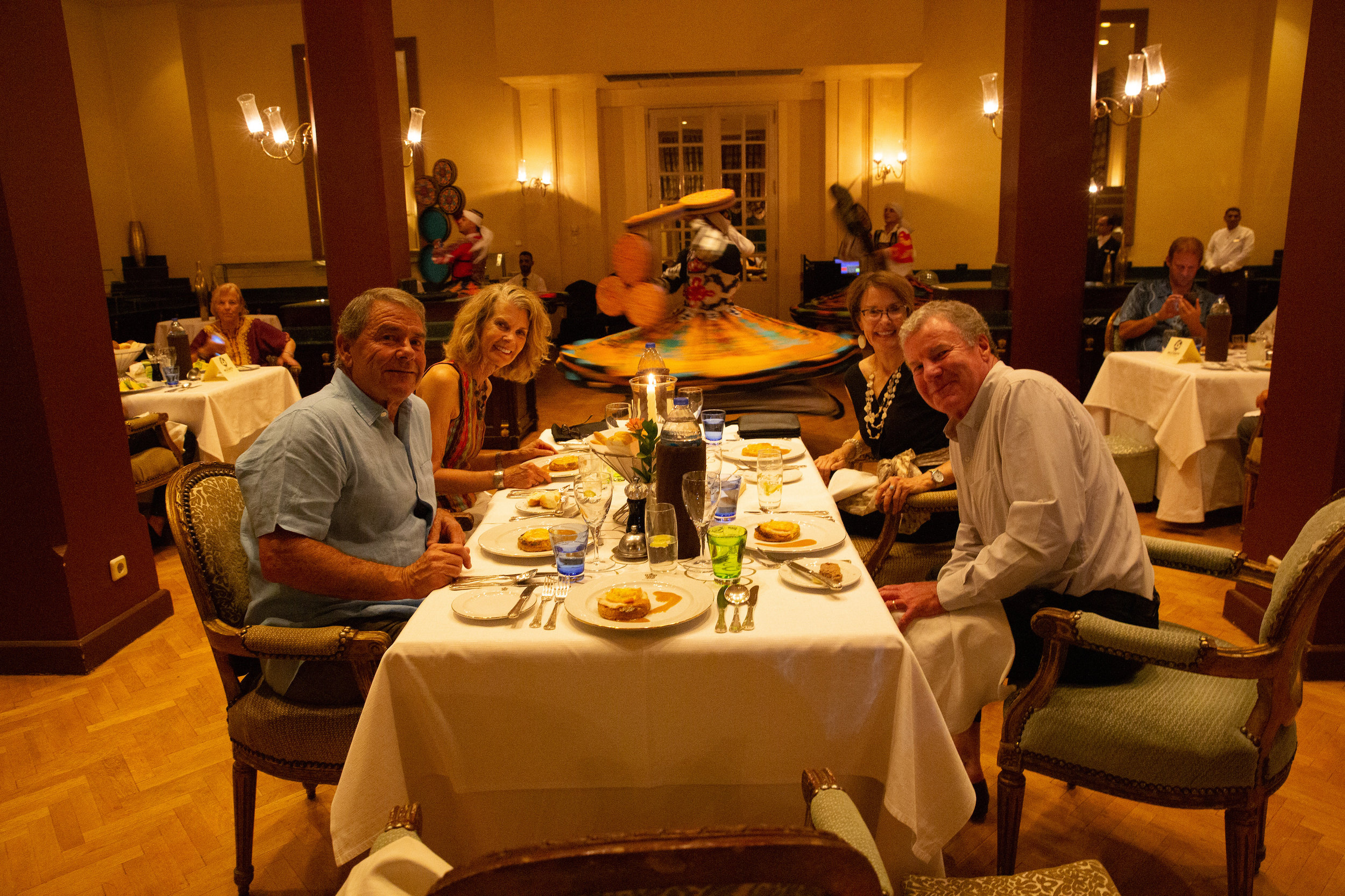Last night dinner, Luxor - Egypt - Wild Earth Expeditions