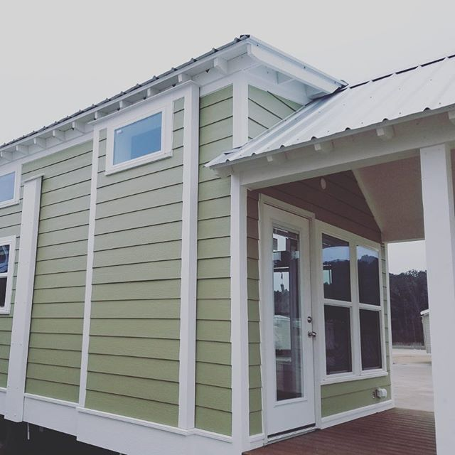 Come on in to this seashore model sent to #florida ... #tinyhome #parkmodel #rvlife