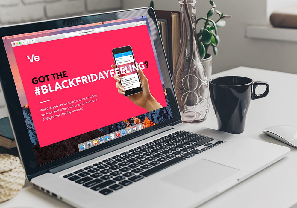 Black Friday - I worked with the marketing team to create a campaign –and ran it from mid July – that would encourage customers to make the most of the eCommerce event