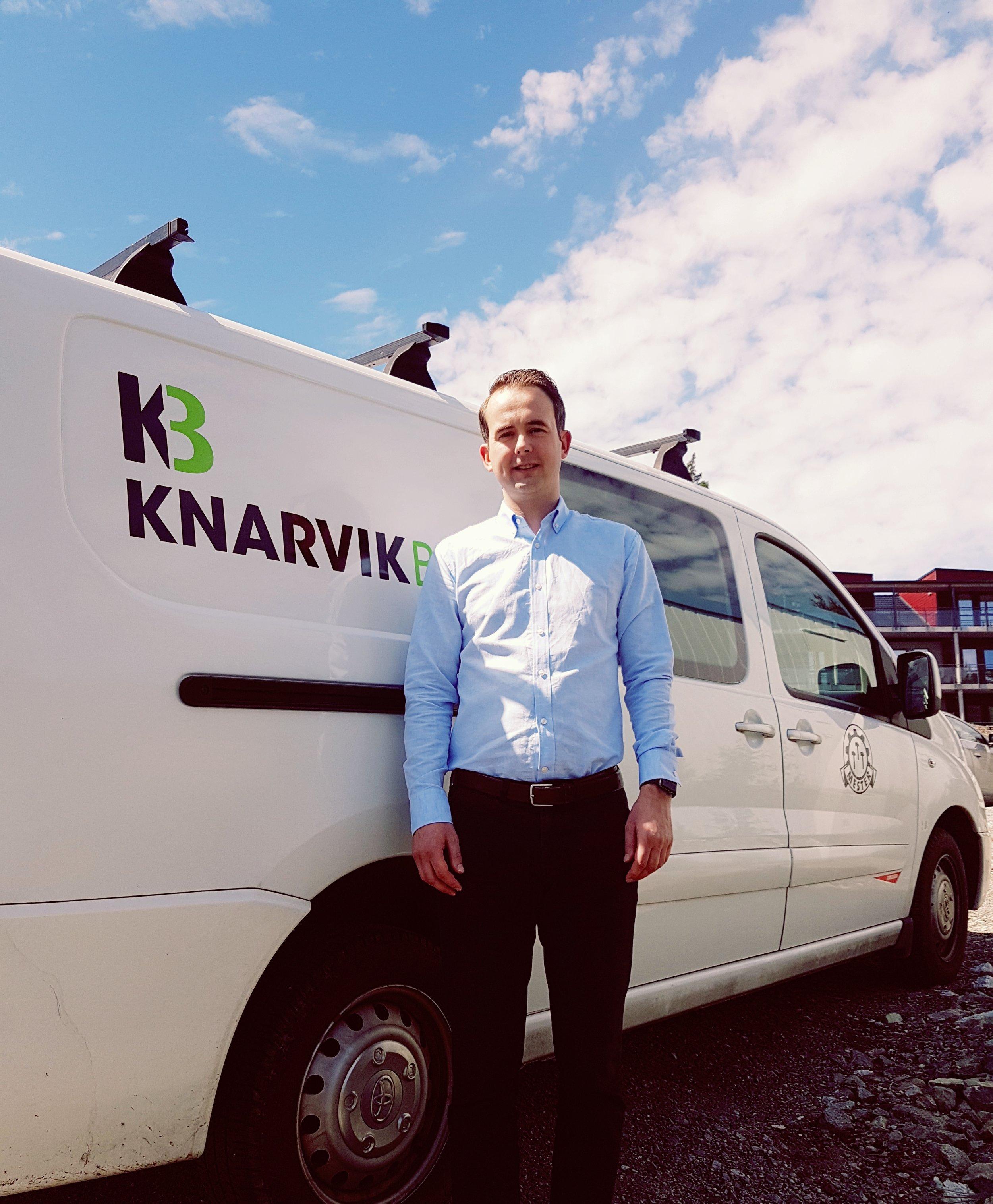 Daniel Malcherek blir ansatt som ny Daglig Leder i KB Entreprenør fra 1.september 2017