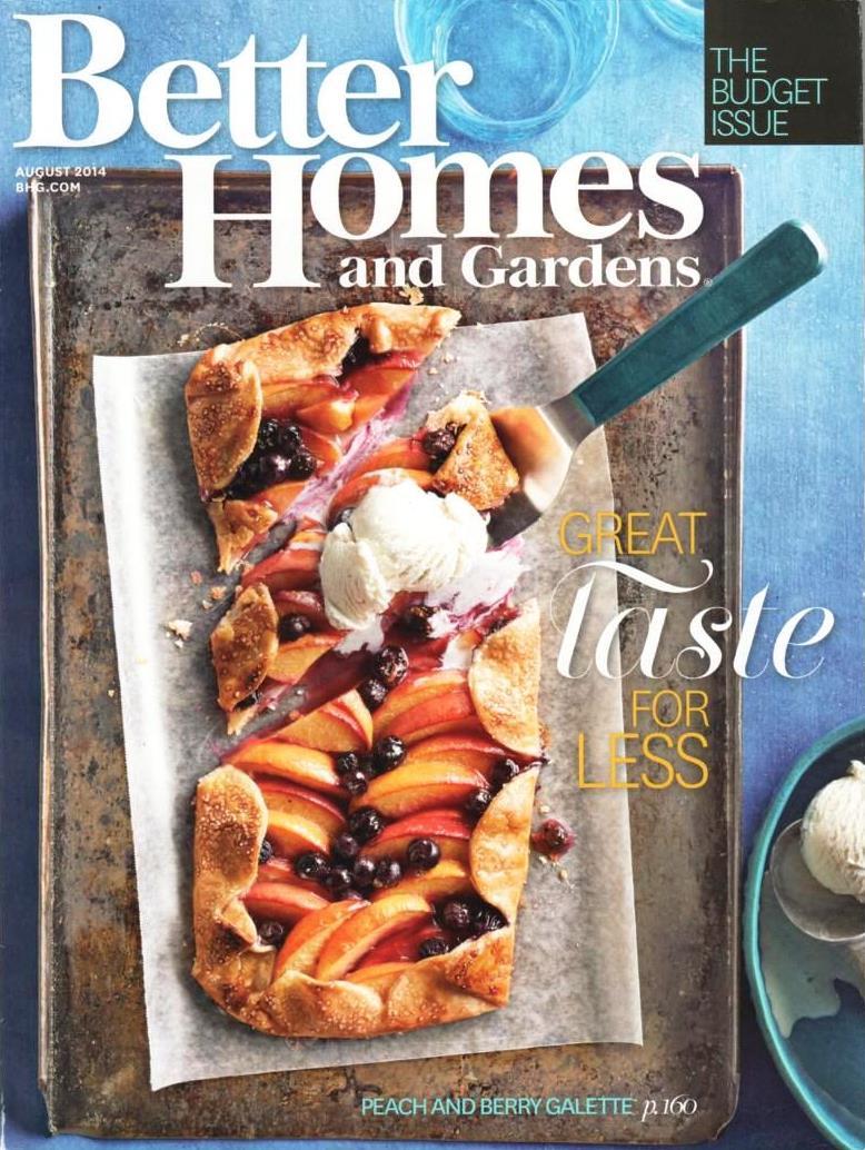 Better Homes & Gardens / August 2014