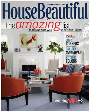 House Beautiful / December 2013