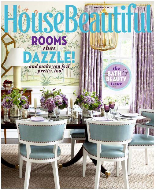 House Beautiful / November 2015