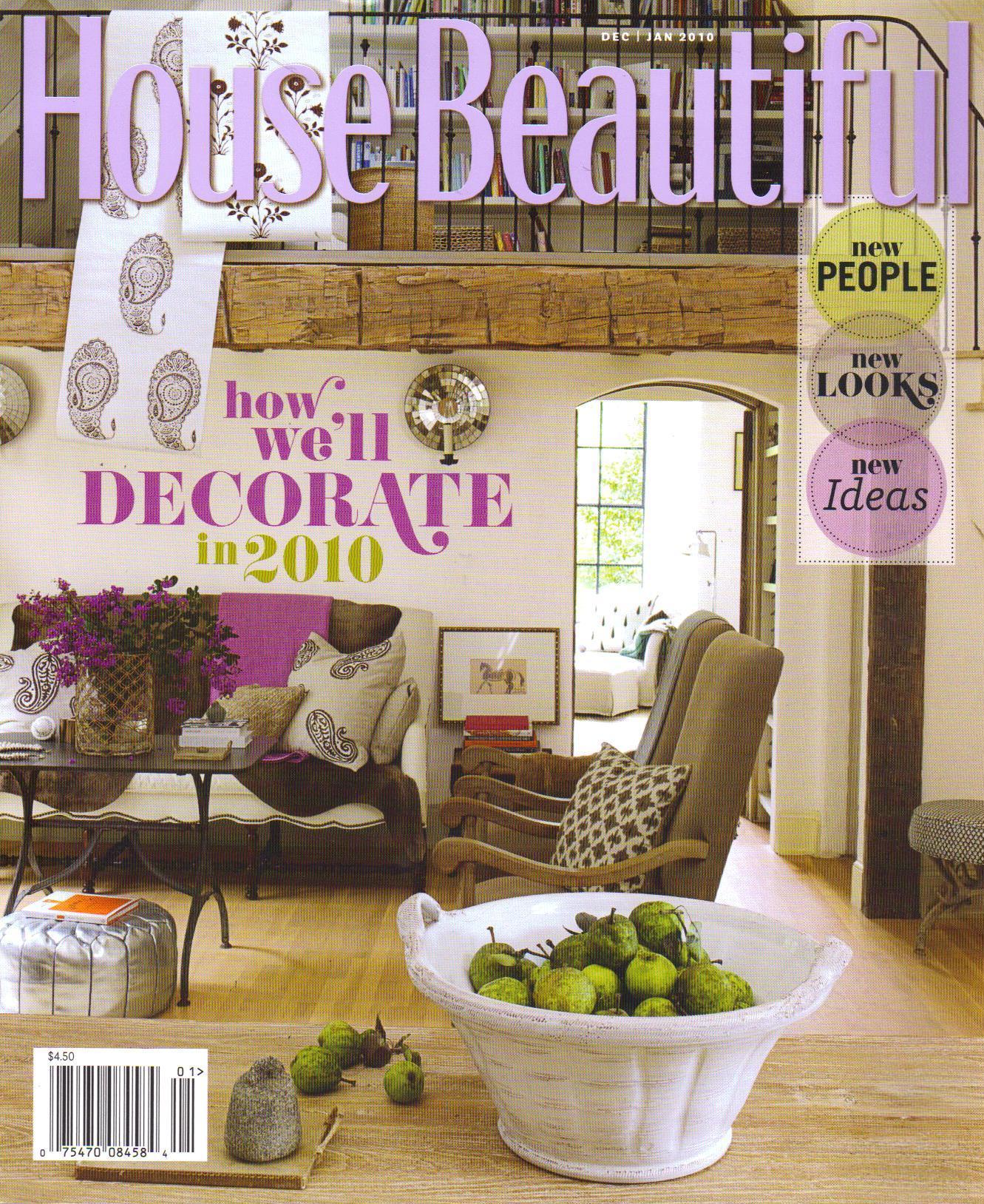 House Beautiful / January 2010
