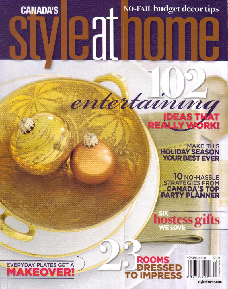 Style at Home / November 2010