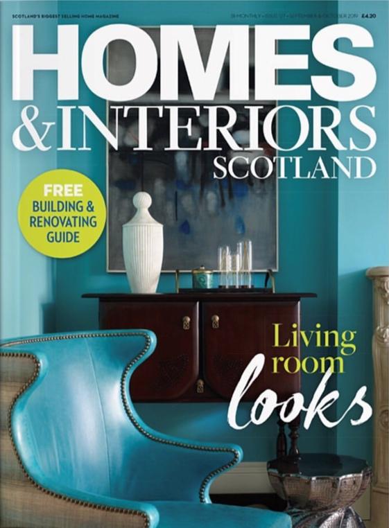 HOMES & INTERIORS SCOTLAND / OCTOBER 2019