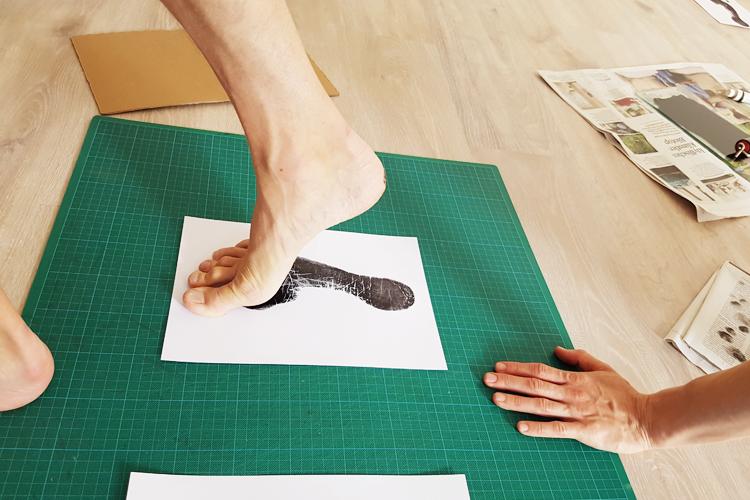 Toto-Barefoot-Druck