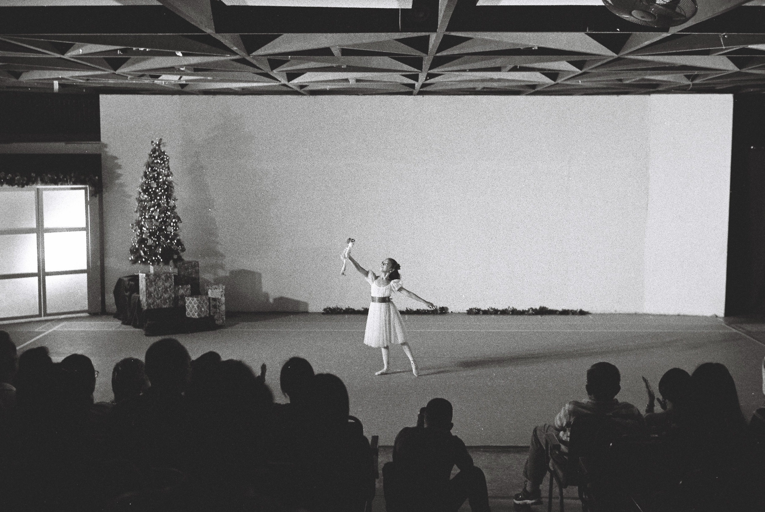 Silay as Clara in The Nutcracker