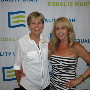 Jane Marquardt and Tami Marquardt At Equality Utah's Allies Dinner
