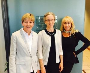 Jane Marquardt, Tami Marquardt, & Ann Burkholder