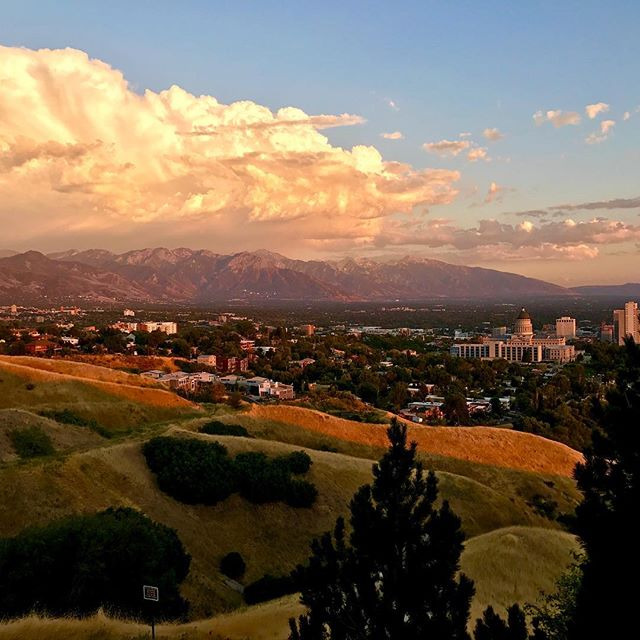 Just another #saltlakecity #sunset !