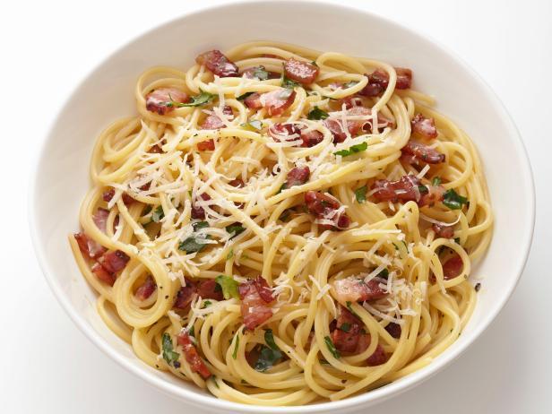 Pasta Carbonara - $15