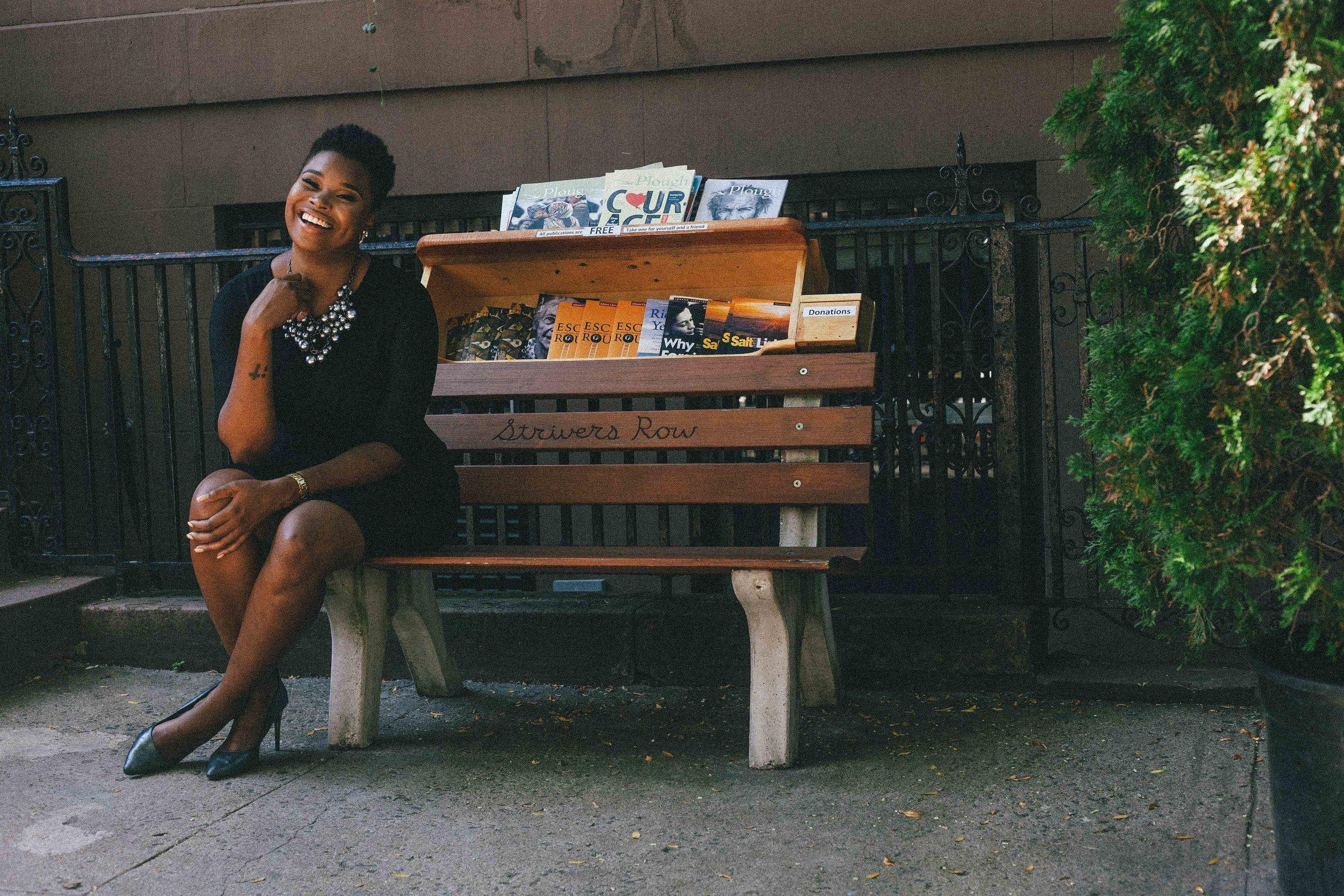 Strivers Row: Duanecia Evans - Profile by: Desiree SwindellPhotos by: Jarrod