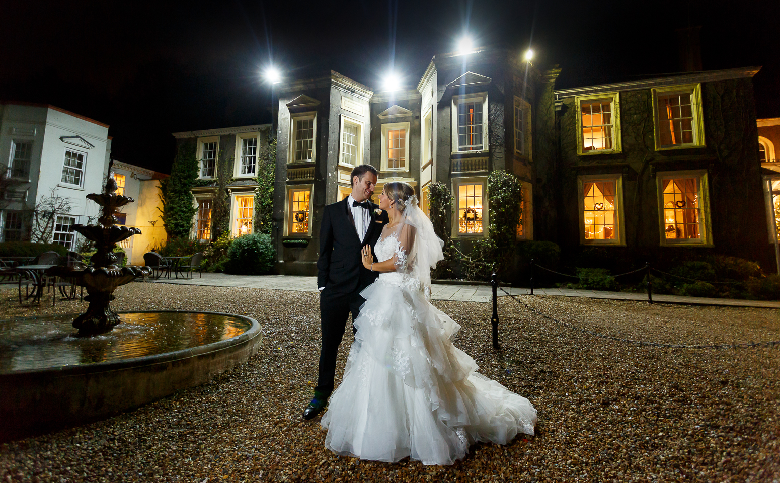 New House Country Hotel wedding