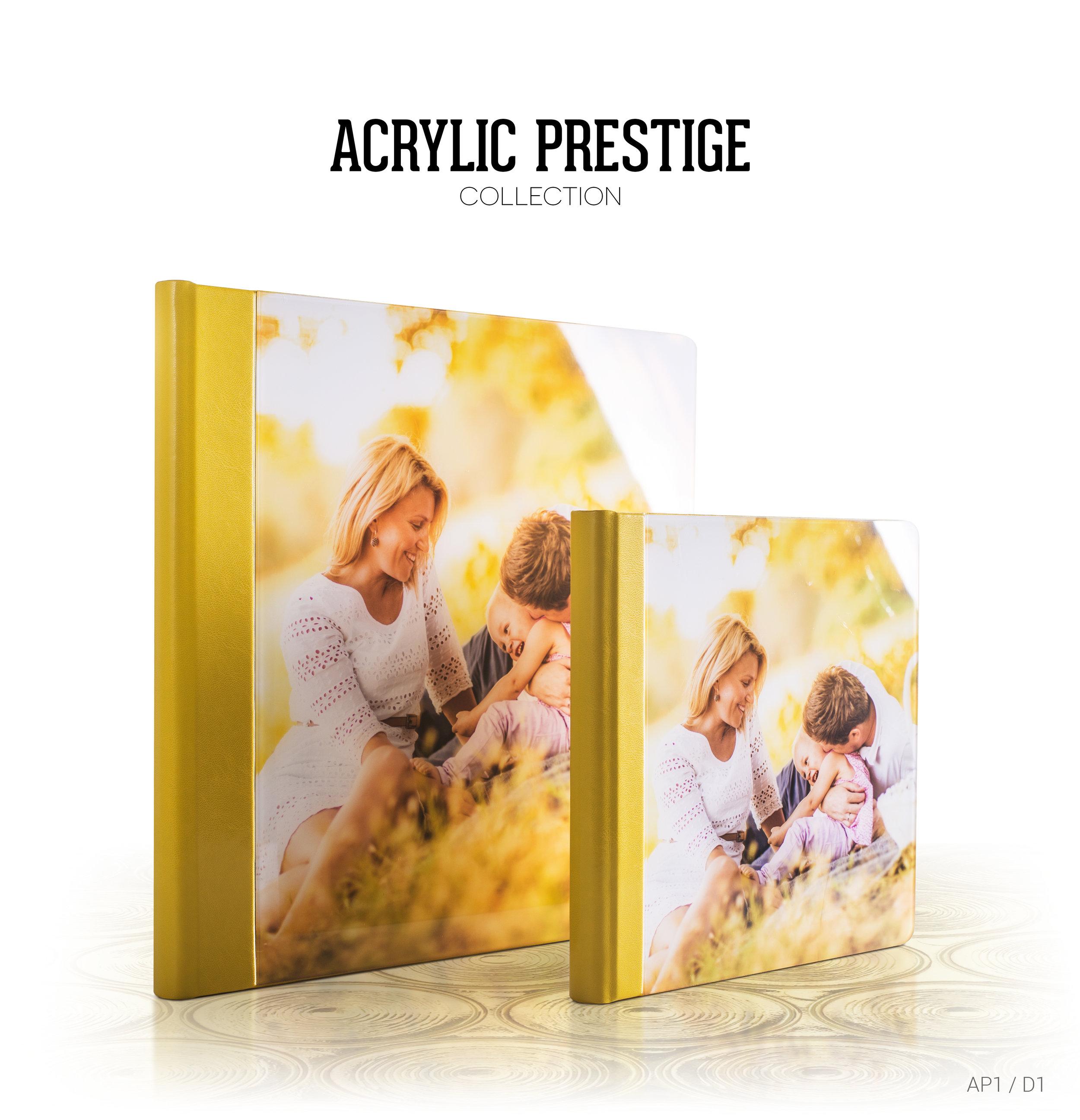 Acrylic wedding albums