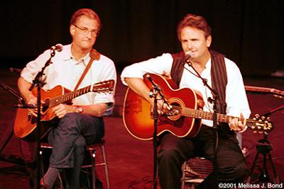 Merlefest 2001 with Geoff Muldaur