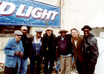 King Biscuit Festival: Roy Bookbinder, Otis Taylor, Fruitland Jackson, Hans Theesink, Philadelphia Jerry Ricks, Spencer Bohren, Washboard Chaz Leary