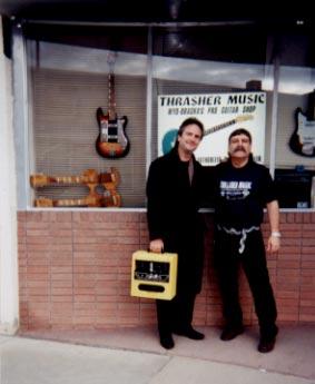Thanks for the amp, Steve Thrasher, Scottsbluff, NE