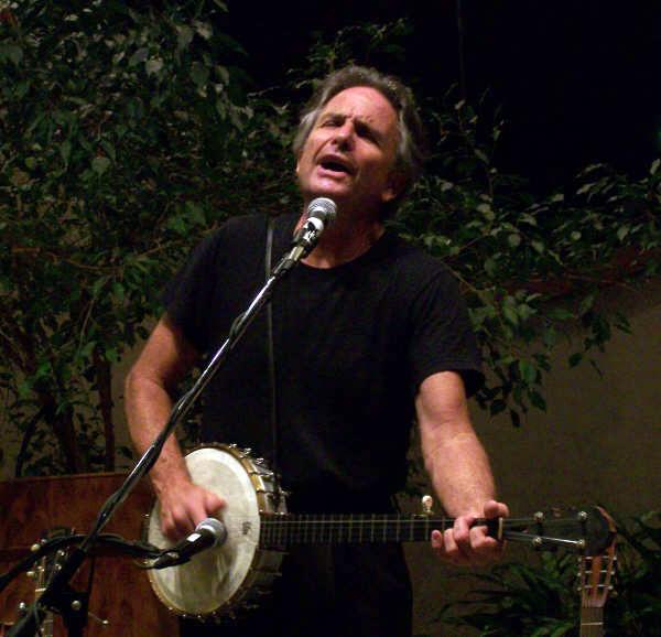 Spencer on Banjo.