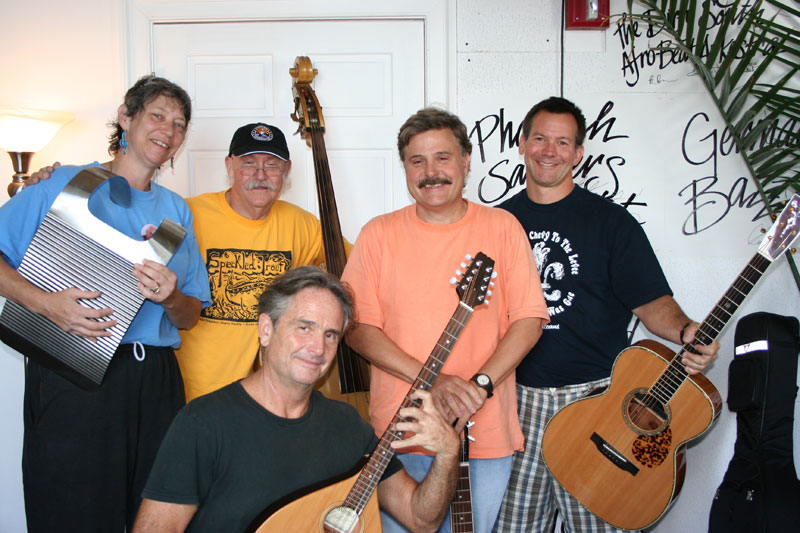 De Soto Street Band and Spencer at WWOZ.