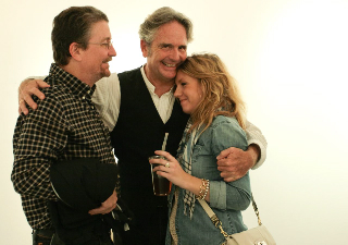 Spencer with Dave and Syd Bohren.
