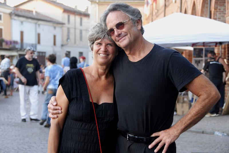 Marilyn and Spencer Bohren in Zibello.