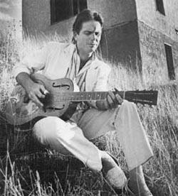 1986 – Spencer's promo shoot for Down in Mississippi.