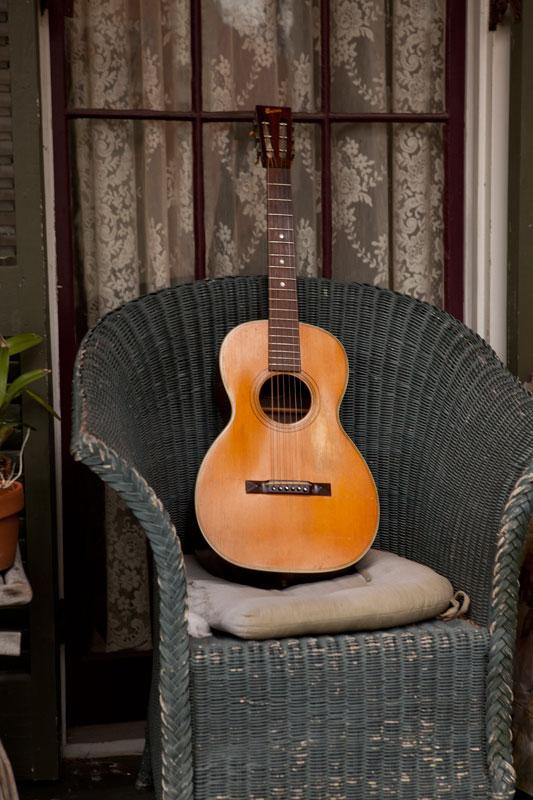 Bruno Parlor Guitar.