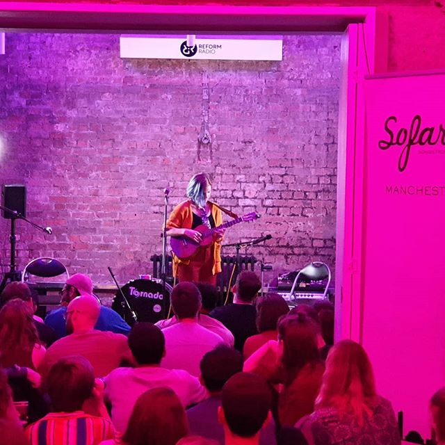 Music is the glue that brings us all together. I was in Manchester checking out @reformradio's inspiring talent development programs for under-privileged 16-25 year olds. It just so happened they were hosting a Sofar that evening! What are the odds.