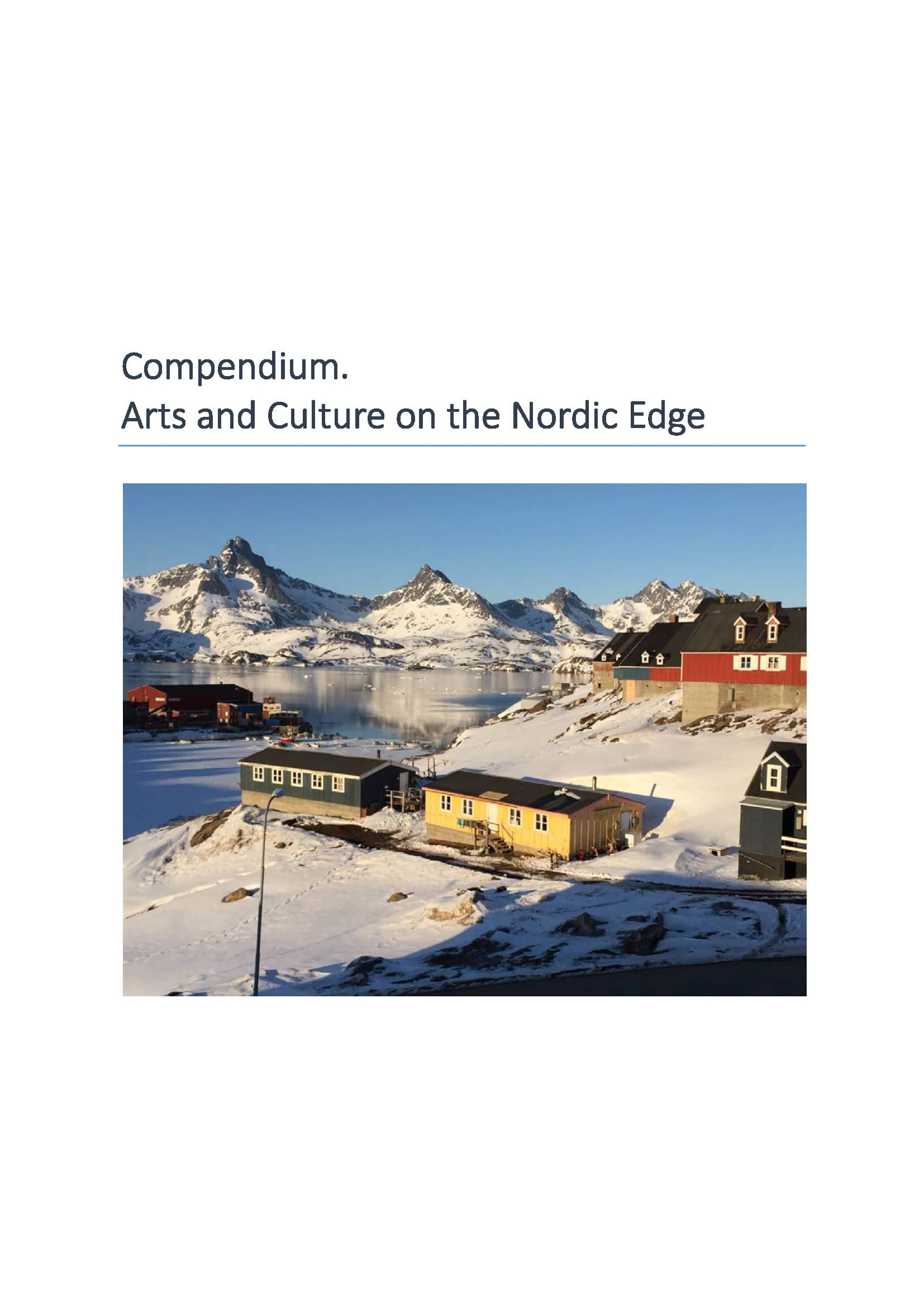 Arts and Culture on the Nordic Edge