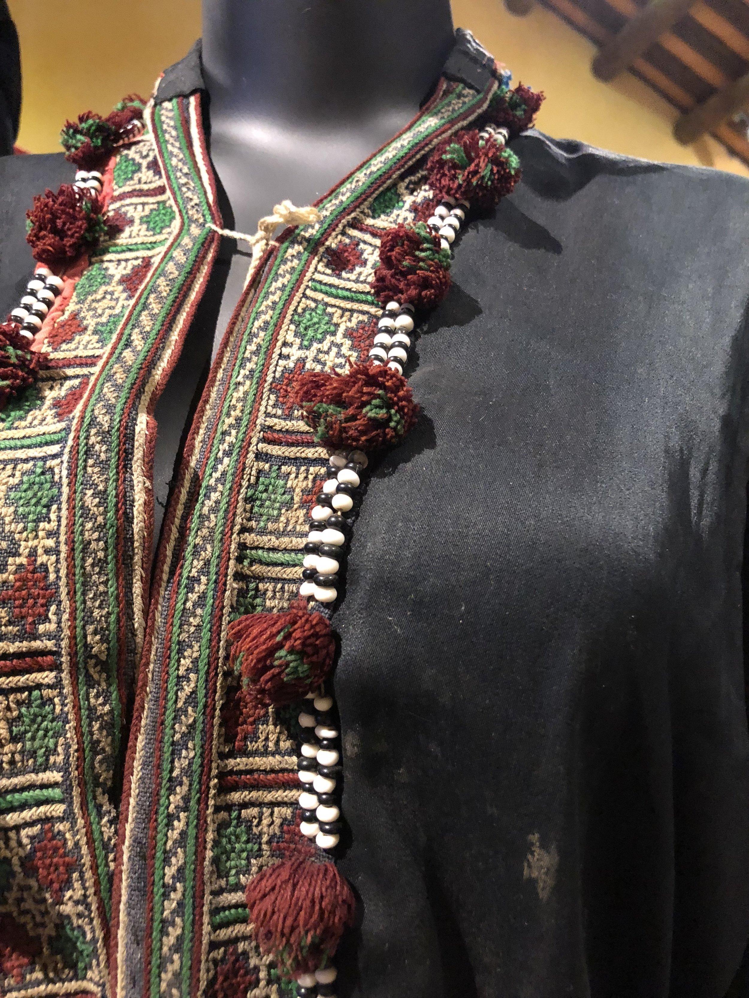 Red Dao costume