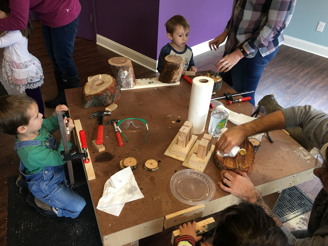 Toddlers can explore and grow in a safe, supervised enviroment