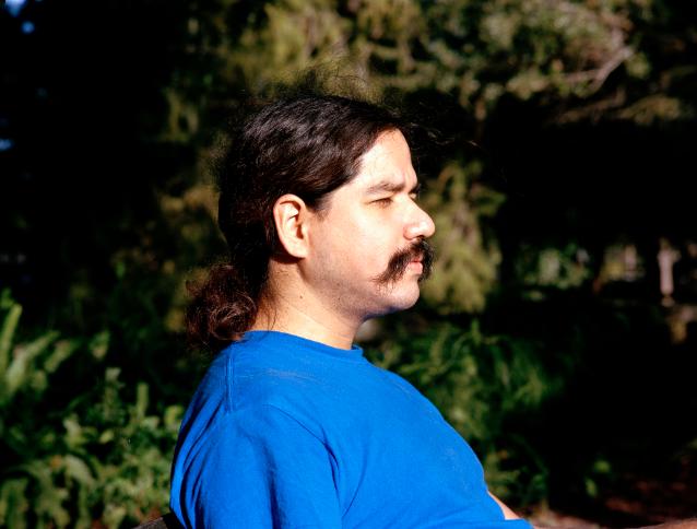 A Portrait of Joel in Amelia Park, 2019
