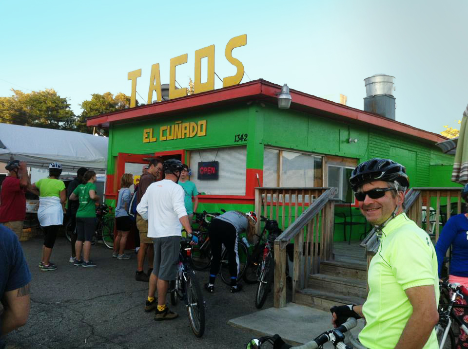 Tacos? Did somebody say tacos? A  PedalGR Taco Ride.