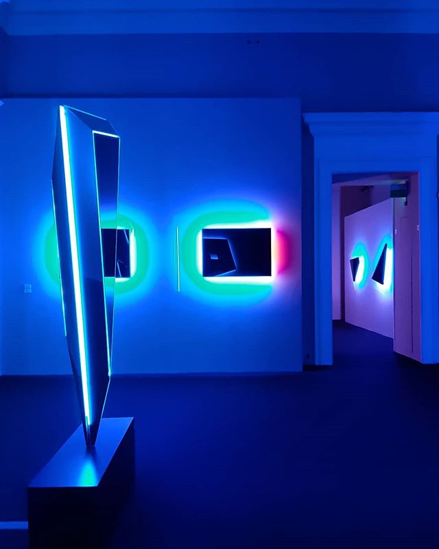 Nanda Vigo Light project @palazzorealemilano.  #nandavigo #lightproject #architecture #design #art #milan #inspiration #light