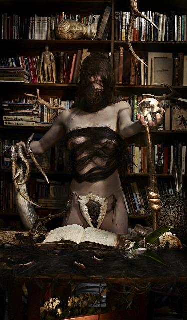 Helena Hunter as The Magician  Photo by Manuel Vason