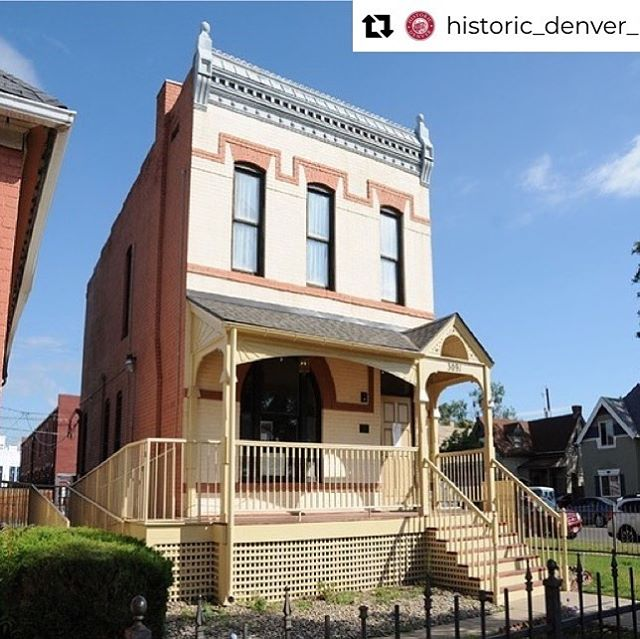 Neat opportunity to support an important local institution!! @historic_denver_inc #regram Experience the home of Dr. Justina Ford yourself! Join us for an Open House on Oct. 5 from 10 a.m. - 4:30 p.m. Enjoy tours, performances, food trucks and historical interpreters. RSVP at Facebook.com/historic.denver/. And please keep voting DAILY at the link in our bio! 📸: @shannonnoelle44 and @sigsstrand  #voteyourmainstreet #behistoricdenver #partnersinpreservation #savingplaces #fivepoints