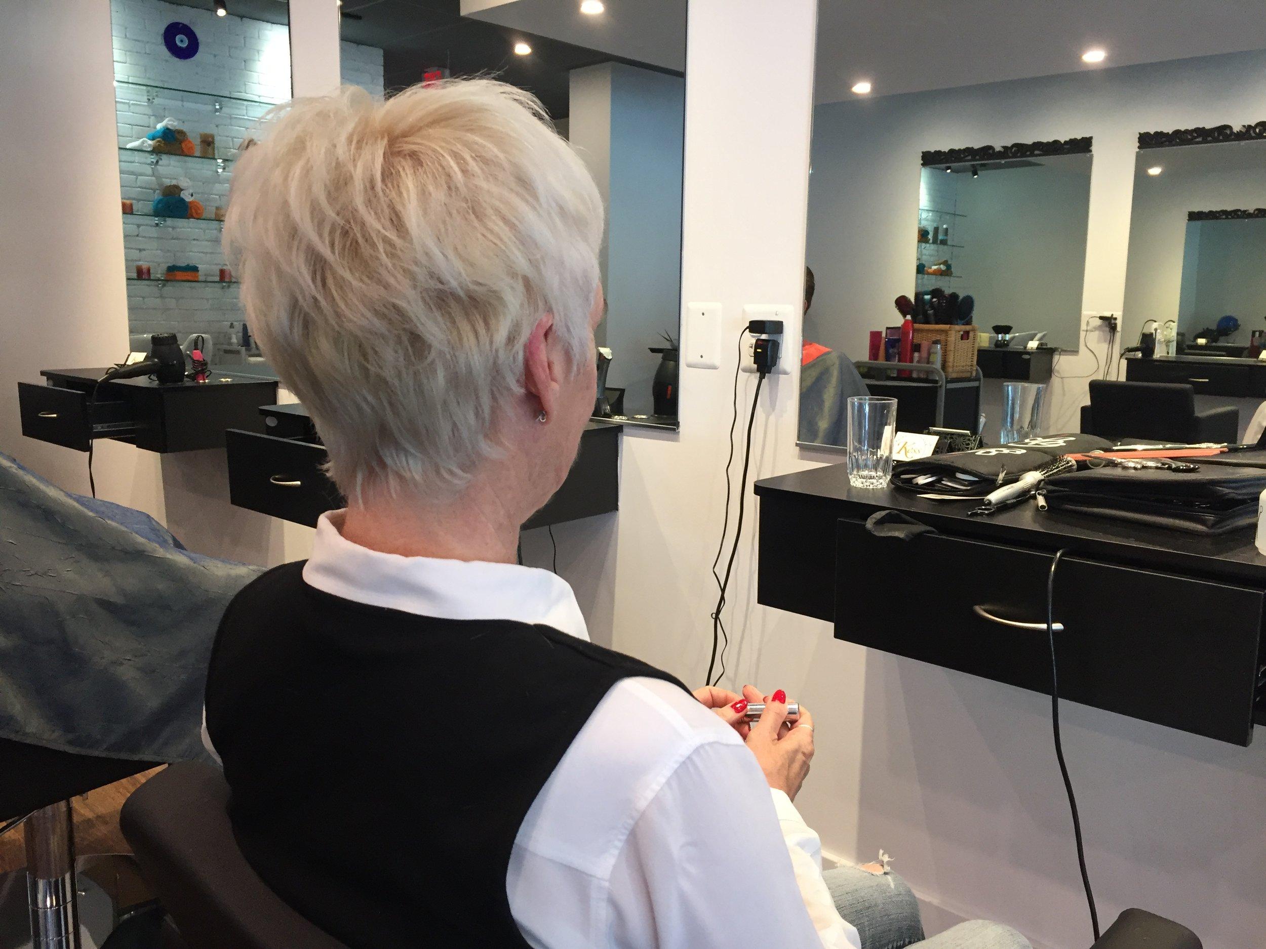Full head highlights and haircut - Final look