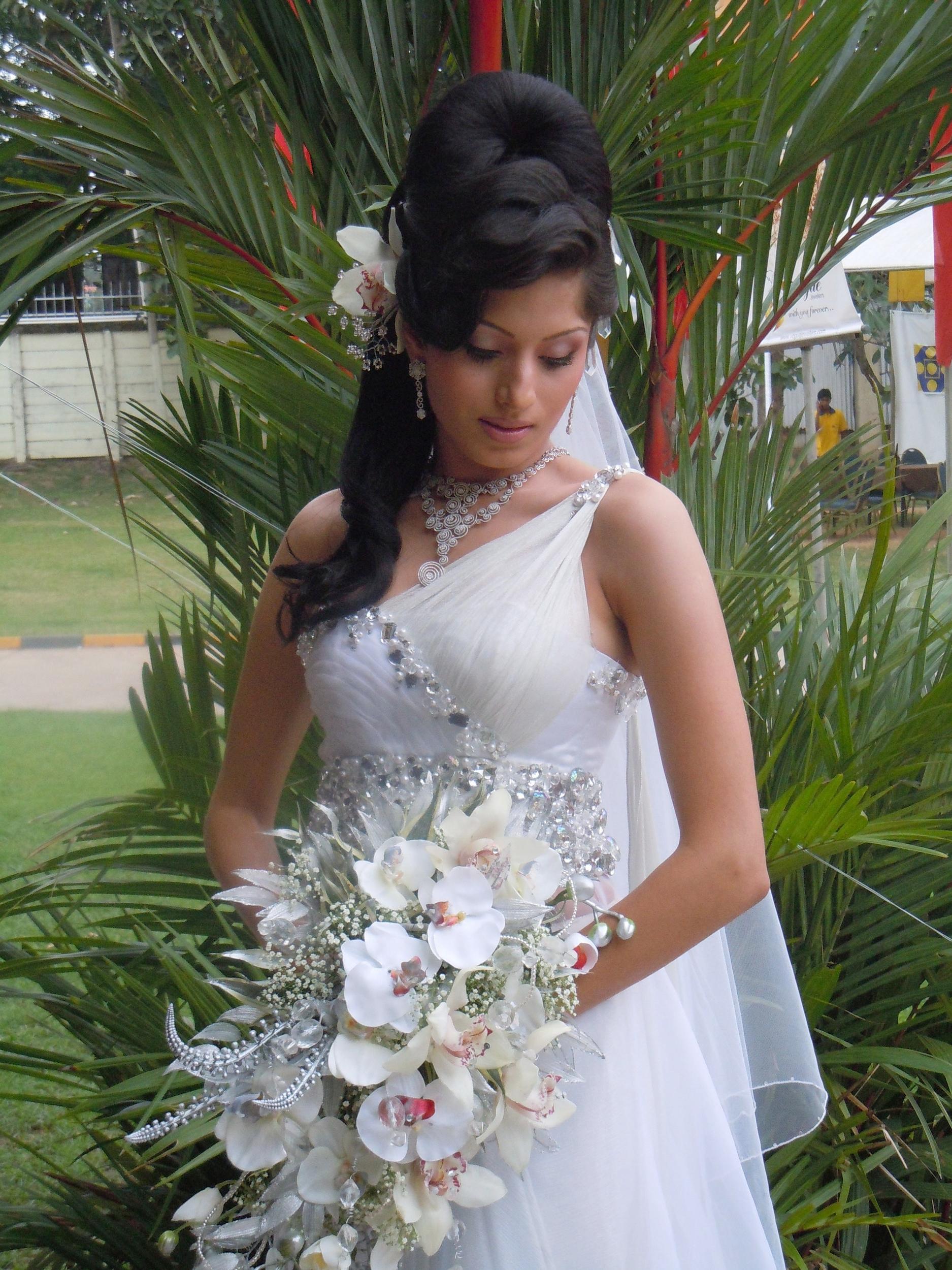 Romany Wedding - Main Updo