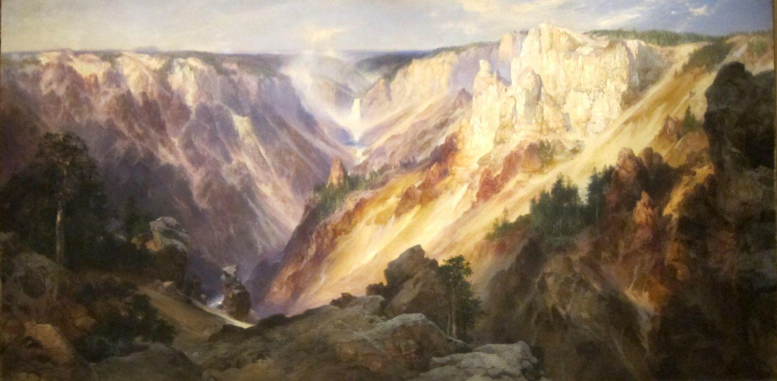 Moran,  Grand Canyon of Yellowstone,  1904