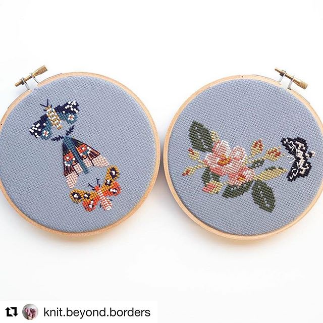 The auction has begun!!!! @knit.beyond.borders is raising money for @csvanw  Original post by @knit.beyond.borders ・・・ Win a @junebuganddarlin cross-stitch kit of your choice!! Kits include all supplies and instructions! (I'm partial to those gorgeous moths 😍). - Bidding starts at $20 and increases by $5 per bid. Leave your bid on the original post by @knit.beyond.borders
