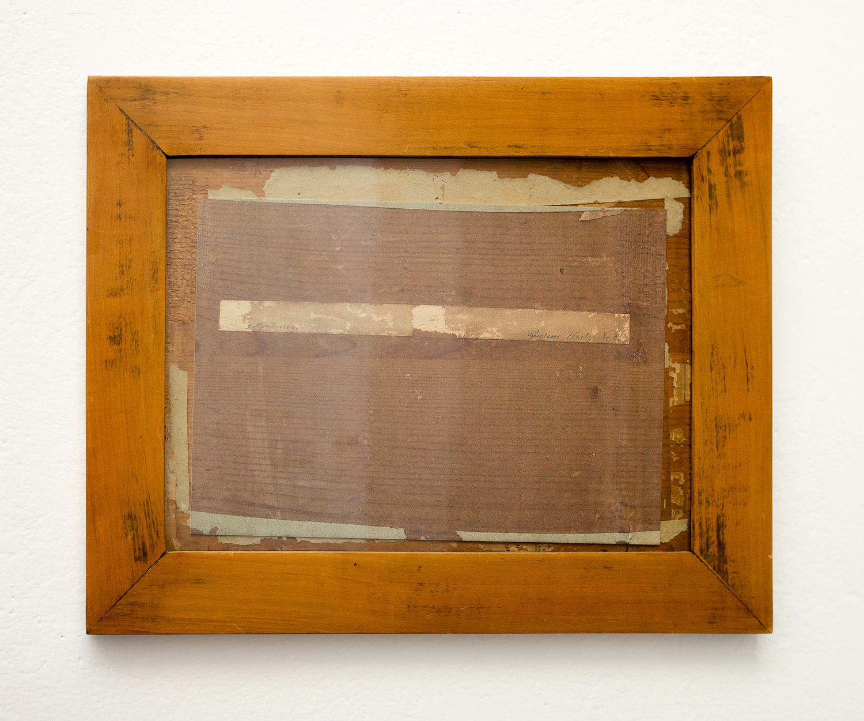 0001-5 April 1864. Pauline Ebert...N6, 2000-2015-fotocopia a colori su cornice e vetro originale, 33x41cm.jpg