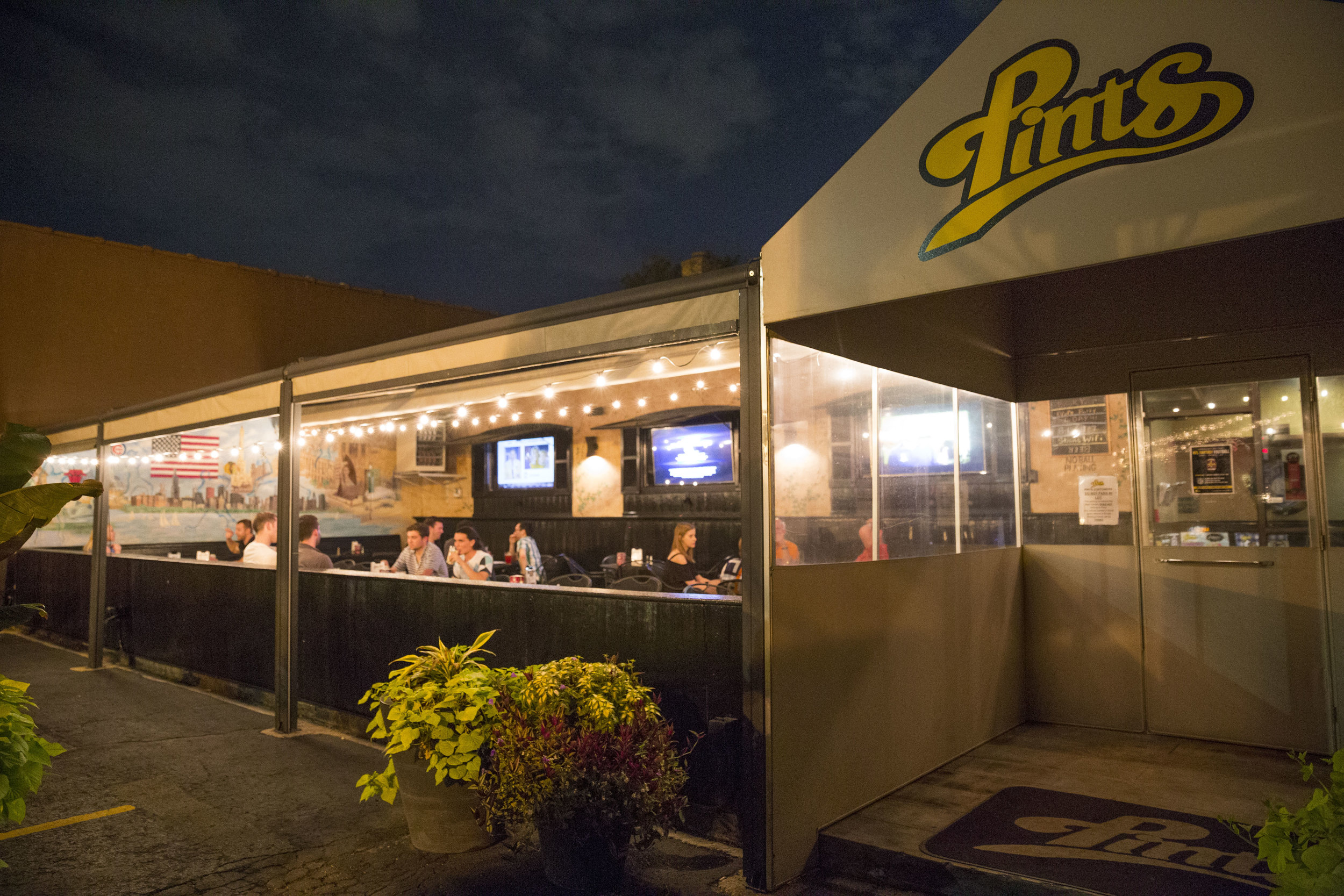 Photo by Marielle Decena   Pints near downtown Elmhurst sports a popular beer garden which has played host to EC events in the past.