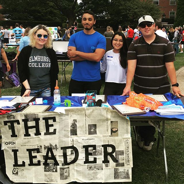Taste of Elmhurst was a success! Thanks to everyone who signed up, we are ready to meet some new journalists and come back in full force this year! #newspaper #collegenews #elmhurstcollege #ecleader #theleader