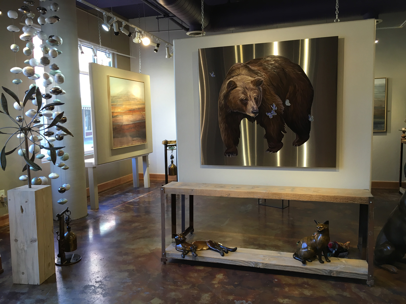 Bear Dance available at Trove Gallery, Park City, UT